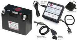 Shorai Lithium Battery Lfx14l2-bs12 + Charger Sho-bms01 Combo Package
