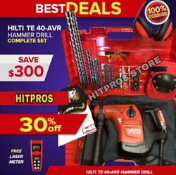 Hilti Te 40 Avr Hammer, Preowned, Free Laser, Extras, Fast Shipping