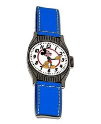 Le 100 Disney Auctions Pin✿mickey Mouse Watch Clock Vintage Wristwatch Rare 1950