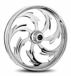 Rc Components Chrome Assault 19 Front Wheel And Tire Harley 07-16 Fl Softail