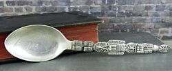 Breadner Mfg. Co. Lethbridge Alberta Canada Totem Pole Sterling Souvenir Spoon
