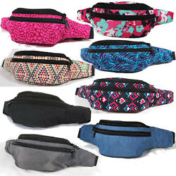 Fashion Designer Twill Fanny Pack Waist Belt Bag Hip Bum Packs Travel Festival