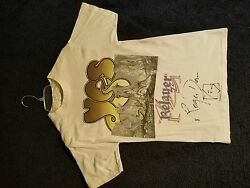 Yes Concert T-shirt Signed By Roger Dean