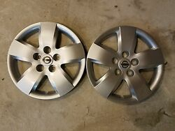Pair Of 2 New 2007 2008 Altima 16 Wheel Covers Hubcaps 53076 Free Shipping