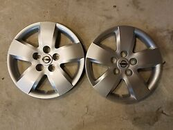 Pair Of 2 Brand New 2007 07 2008 08 Altima 16 Wheel Covers Hubcaps 53076