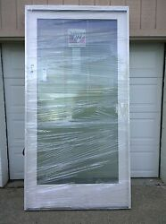 New Andersen Wood Fixed Picture Window W/ Cladding And Tempered Glass 50 X 96