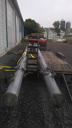 28' Galvanized Steel Structural Poles/ Sign Pole / Signal Poles