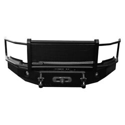 Iron Cross Hd Grille Guard Front Bumper For 2004-2015 Nissan Titan 24-915-04