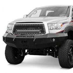 Iron Cross Hd Base Front Bumper For 2007-2013 Toyota Tundra Truck 20-715-07