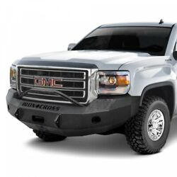 Iron Cross Hd Push Bar Front Bumper For 2014-2015 Gmc Sierra 1500 22-315-14