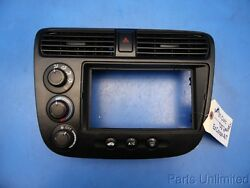 01-05 Civic OEM center dash vent & climate control temperature switch flaw #5