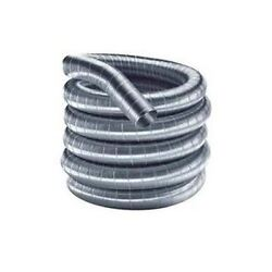 Flex-all Single Ply Stainless Steel Custom Chimney Liner - 12 X 90and039