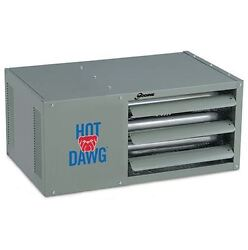 125k Double Stage Hot Dawg Garage Power Vented Blower Unit - Ng