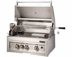 28 Propane Infrared 3 Burner Gas Grill With Lights