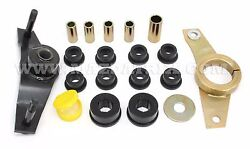 79-85 Rx-7 Stock Watts Link Bracket, Exclusive Reinforcement Piece,and Bushing Kit
