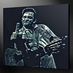 Johnny Cash Canvas Wall Art Picture Print Variety Of Sizes And Designs