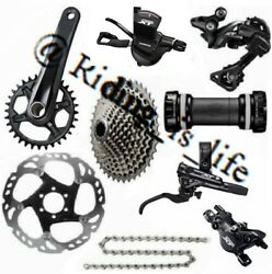 New Shimano Xt M8000 1x11 Speed Complete Mtb Groupset 40t-46t/170mm/175mm