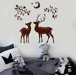Vinyl Wall Decal Deer Fawn Child Room Nature Nursery Stickers ig3931