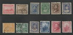 Hawaii Lot Used High Value Stamps Catalog Value Way Over 130.00