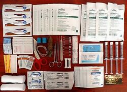 Trauma First Aid Kit Quality Supplies Fully Stocked Medical Bag Bug Out Prepping