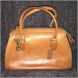 Vintage Coach Broadway Doctor Boston Speedy with Long Strap