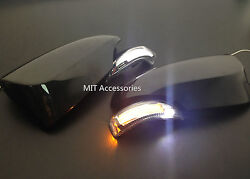 MIT TOYOTA CAMRY 2015-17 LED door mirror turn signal light courtesy lamp-Painted