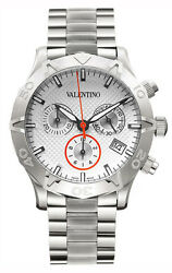 Valentino V40lcq9902-s099 Homme Chronograph Date Stainless Steel Watch 2,150