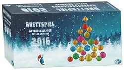 New Brettspiel Advent Calendar 2016 24 Board Game Mini Expansions Factory Sealed