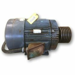 Used 100 Hp Reliance Duty Master Ac Motor 405t Frame 1775 Rpm
