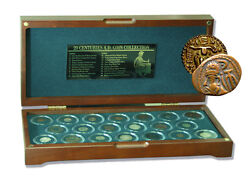 1st Through 20th Century 20 Coins From 20 Centuries Box A Retrospective Collec