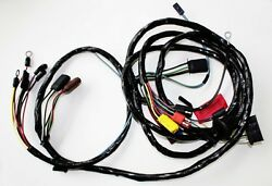 New 1967 Ford Mustang Headlight Wire Harness Loom Made In Usa W/o Tach W/o Gt