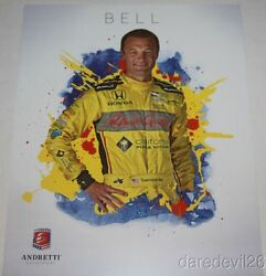 2016 Townsend Bell California Pizza Kitchen Honda Indy 500 Indy Car Postcard