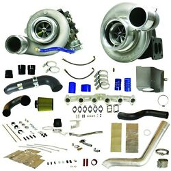 Fits 07.5-09 ONLY Dodge Ram Diesel BD-POWER RT800 TRACK MASTER TWIN TURBO KIT...