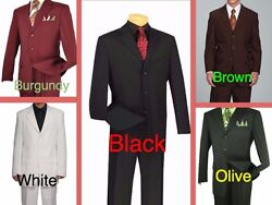 Clearance Menand039s Big And Tall Suit - Jacket And Pants - Size 48 To 70 - High Quality
