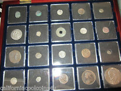 20 Coins From 20 Centuries 1st Through 20th Century Booklet And Cherry Wooden Box