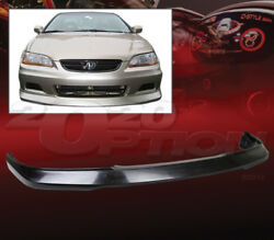 Oe Style Polyurethane Front Bumper Lip Spoiler For 01-02 Honda Accord 2dr Coupe