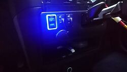 Mit Toyota Tacoma 2008-2017 Oem Led Dual Usb Port 2.1a Adapter Power Charger