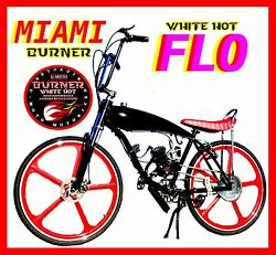 Complete Diy 2-stroke 66cc/80cc Motorized Bicycle Kit With 29 Gas Tank Bike