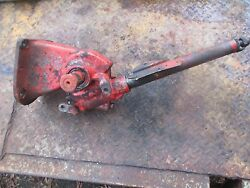 1958 Ford 961 Gas Farm Tractor Steering Column Gear Box Assembly Free Shipping