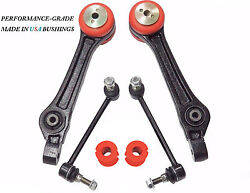 6pc Front Lower Rear Control Arms Sway Bar Link Bushings Fits 300 Charger Magnum