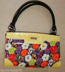 Miche Classic Purse Shell Only Fits The Classic Bag Sabrina Retro Funky Flower