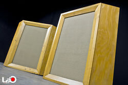 Early Model | Altec 606 System | Blonde Corner Cabinet Pair Worldwide Shippin