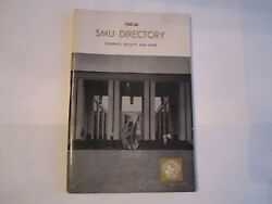 1965-66 Smu Student - Faculty And Staff Directory Booklet - Tub Bn-14