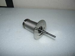 New Stainless Steel Bushing Less Bellow Vacuum Attachment W/ Spindle