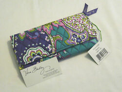 Vera Bradley HEATHER Trifold WALLET Clutch COIN for PURSE Tote BACKPACK Bag  NWT