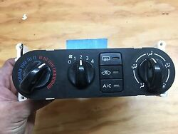2000-2006 Nissan Sentra Heater AC; climate control; OEM; tested good