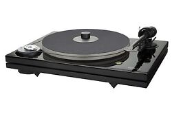 Music Hall MMF7.3 Turntable wCarbonFiber armscrew-down record-clampdustcover
