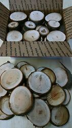 Cherry Wood Chunks/slices For Bbq/grilling/wood Smoking Free Shipping