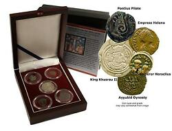 Search For The True Cross 5 Ancient Coins- Historical Figures Of The True Cross