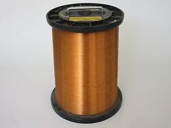 31 Awg 48 Lbs. Ppe Invemid 200 Single Enamel Coated Copper Magnet Wire
